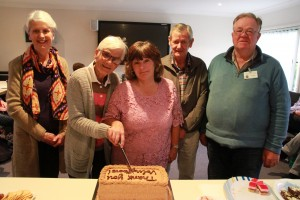 Volunteers celebration